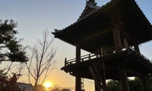 夕日の鐘楼堂
